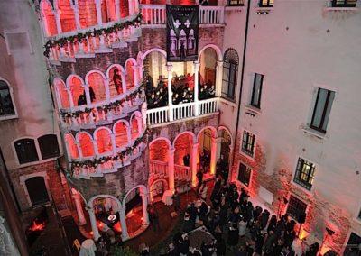 Eventi privati e corporate Gioielli Nascosti di Venezia Scala Contarini del Bovolo