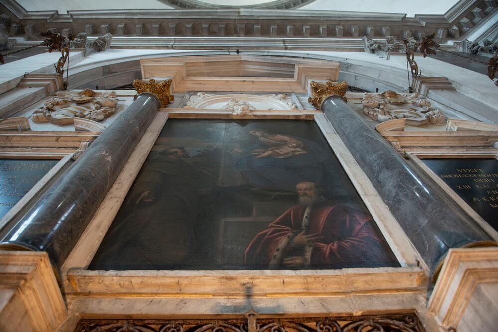 Gioielli Nascosti di Venezia - Chiesa delle Zitelle - dipinto