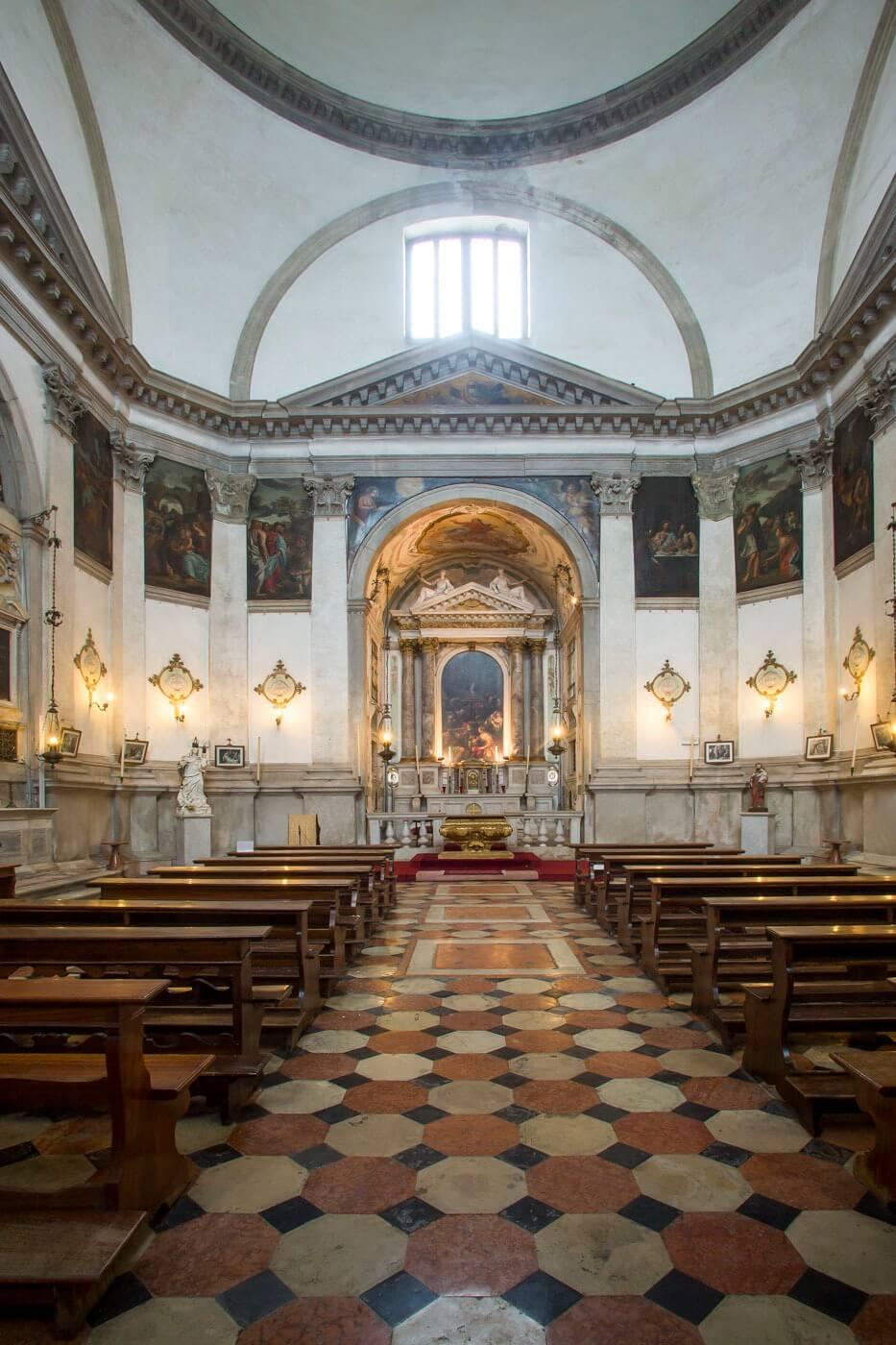 Chiesa delle le zitelle a venezia storia orari prezzi for Finestra termale