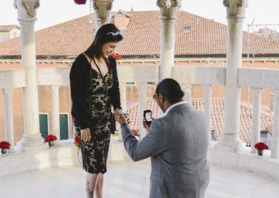 Proposte di matrimonio Gioielli Nascosti di Venezia rose