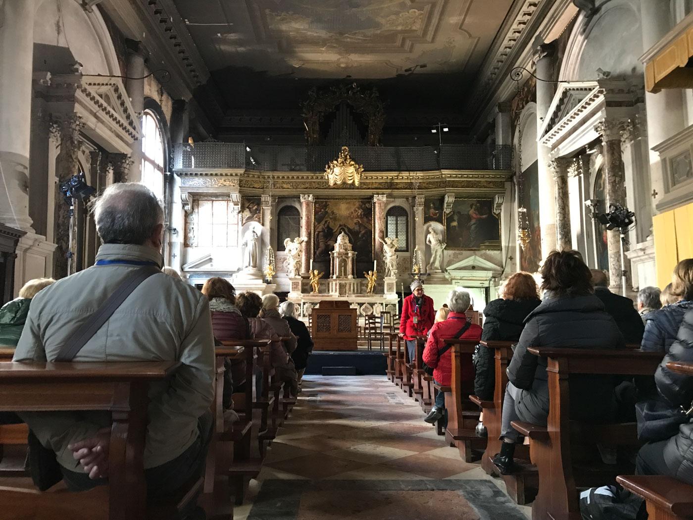 Visita alla Chiesa nel Complesso dell Ospedaletto Gioielli Nascosti di Venezia