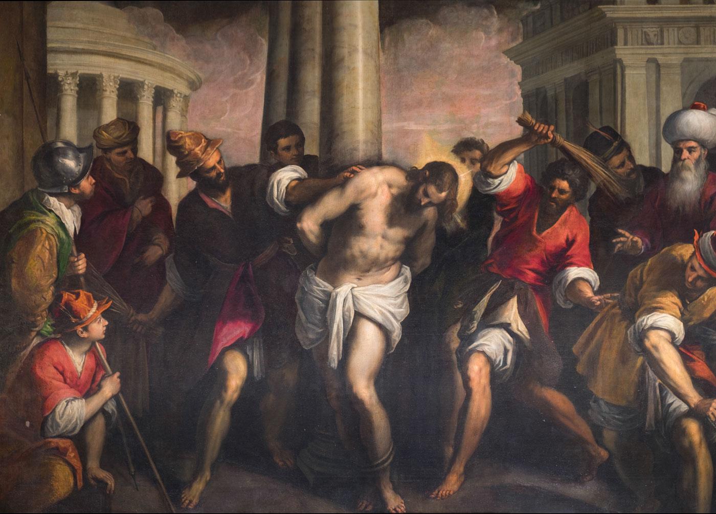 Dettaglio quadro Oratorio dei Crociferi Gioielli Nascosti di Venezia