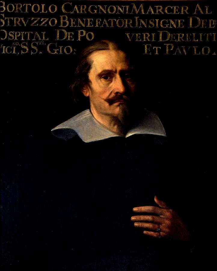 Daniel van den Dyck ritratto di Bartolomeo Cargnoni