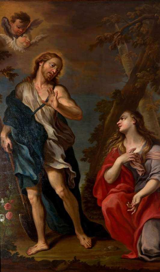 Francesco Pittoni - Cristo appare alla Maddalena (noli me tangere)