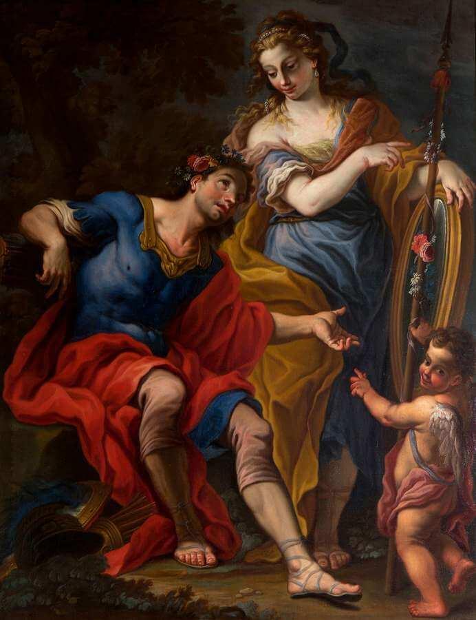 Francesco Pittoni - Venere Marte e Amore