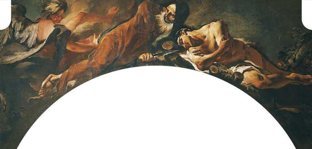 Giovan Battista Tiepolo - Il sacrificio di Isacco