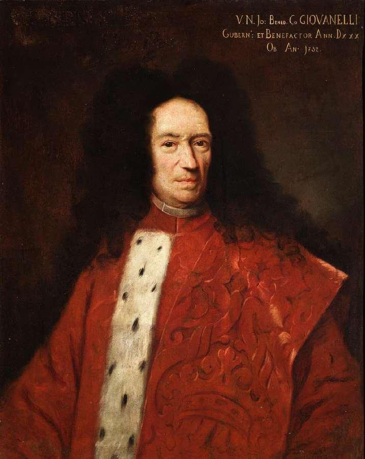 Giuseppe Cortesi - Ritratto del conte Giovan Benedetto Giovannelli