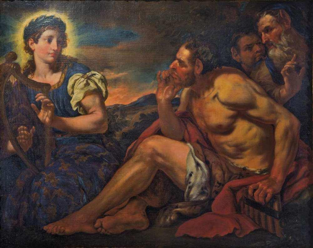 Johann Carl Loth - Apollo e Marsia