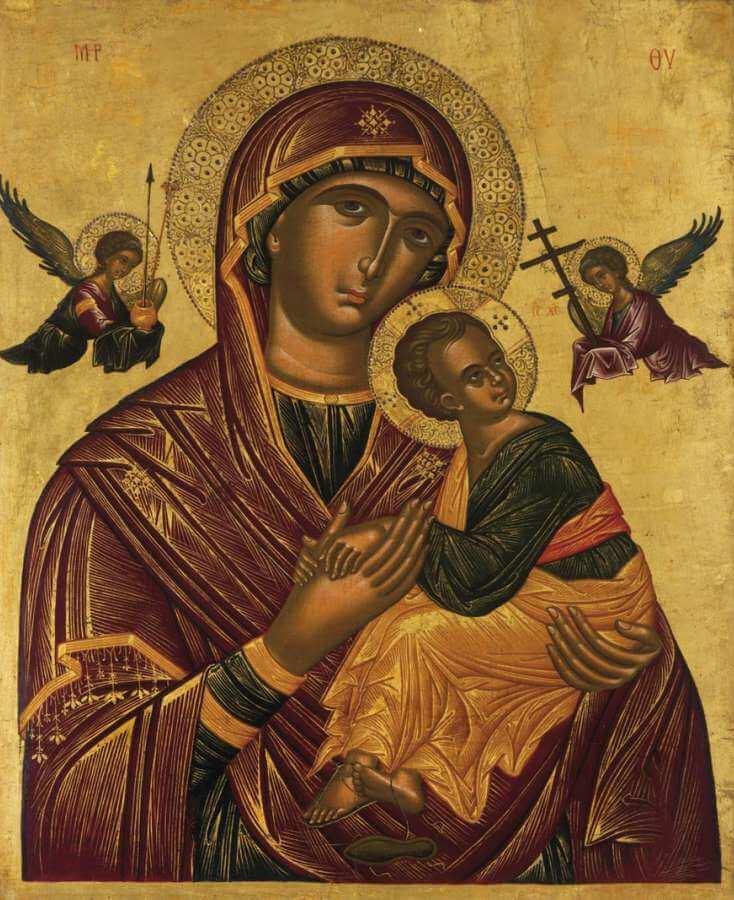 """Madonna della Passione (""""Amolyntos"""")"""