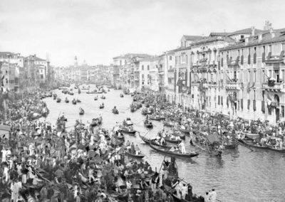 Venezia paesaggio ottocentesco - le vedute di tomaso filippi fotografo - regata storica