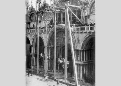 collezione archivio immagini venezia di tomaso filippi - basilica piazza san marco