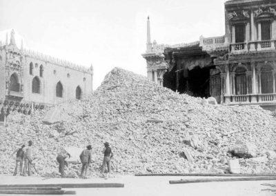collezione archivio immagini venezia di tomaso filippi - crollo campanile