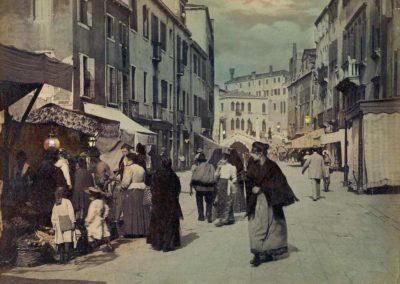 collezione archivio immagini venezia di tomaso filippi - immagine a colori strada nuova