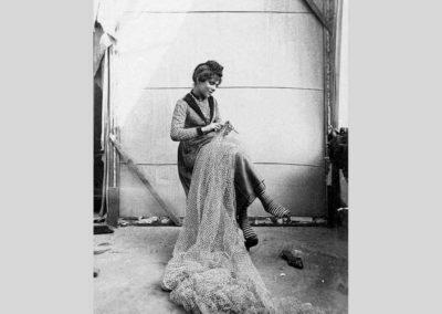 collezione archivio immagini venezia di tomaso filippi - lavoro a maglia
