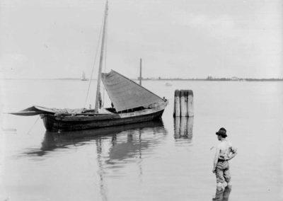 collezione archivio immagini venezia di tomaso filippi - pescatore