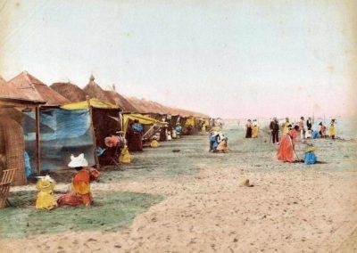 collezione archivio immagini venezia di tomaso filippi - veduta spiaggia