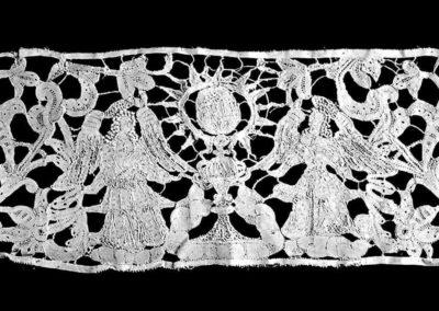 collezione di merletti veneziani - dettaglio lavorazione