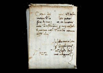 documenti antichi a venezia - patrimonio documentale ire - dettaglio