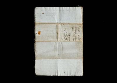documenti antichi a venezia - patrimonio documentale ire - foglio