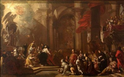 L'ultima comunione di Lorenzo Giustiniani