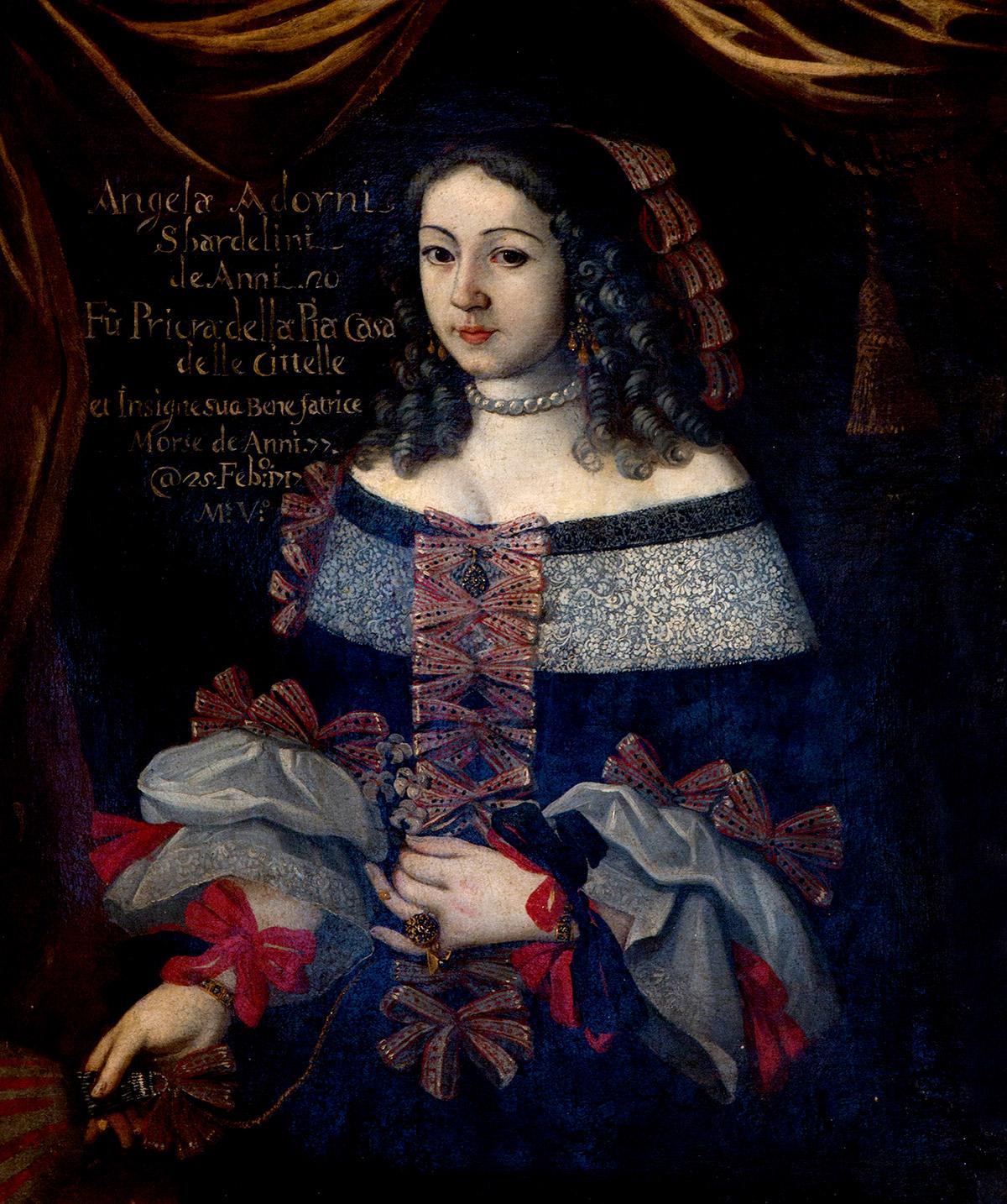 Ritratto di Angela Adorni Sbardellini, Priora delle Zitelle