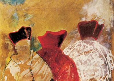 Ezio Gribaudo, Simboli del Concilio, 1963, Venezia, Collezione Cardazzo_300dpi-1